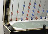 Stolny futbal Garlando Olympic Silver detail stolného futbalu